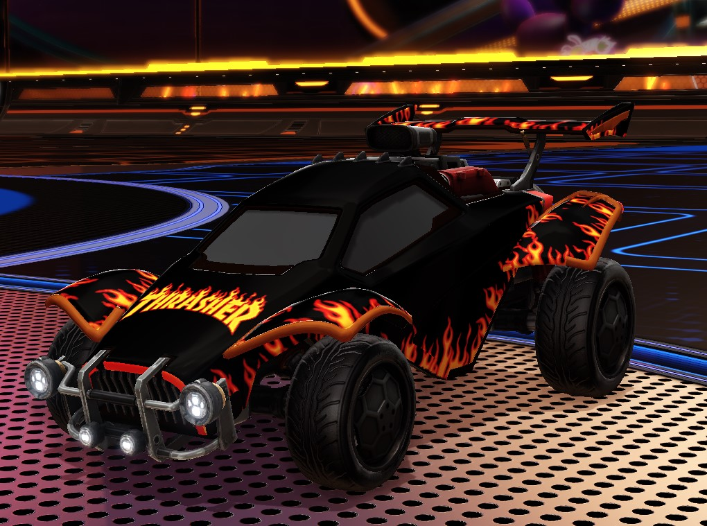 Trasher Octane Decal [CLEAN]