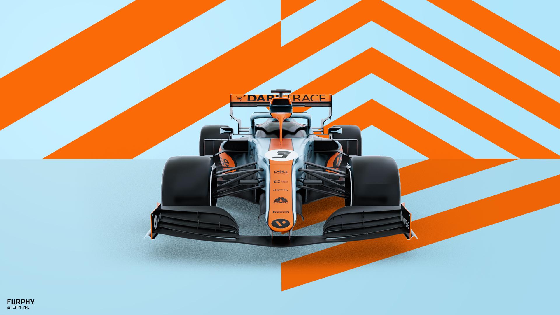 F1 + RL   Mclaren Monaco GP Livery 2021