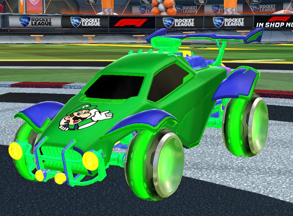 Super Luigi Octane