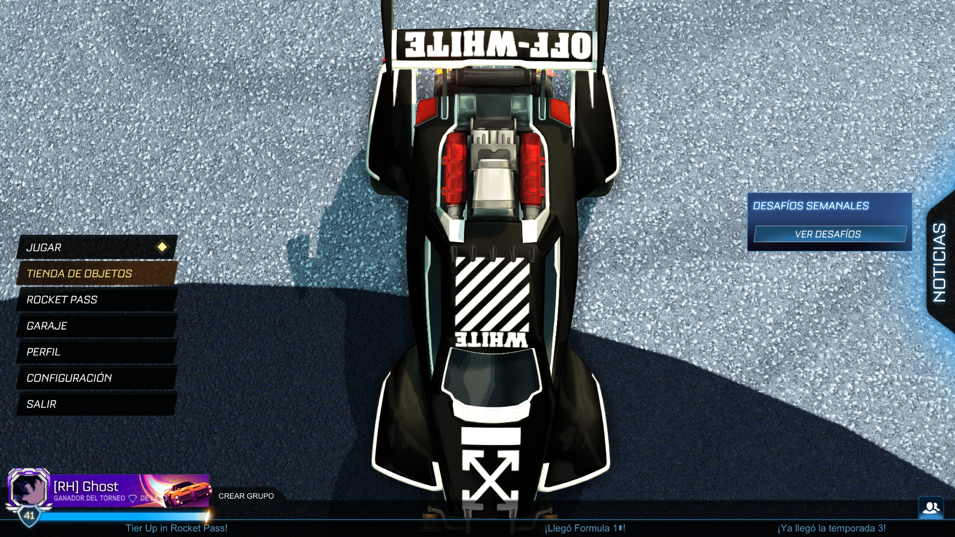 Off-White Decal for Octane