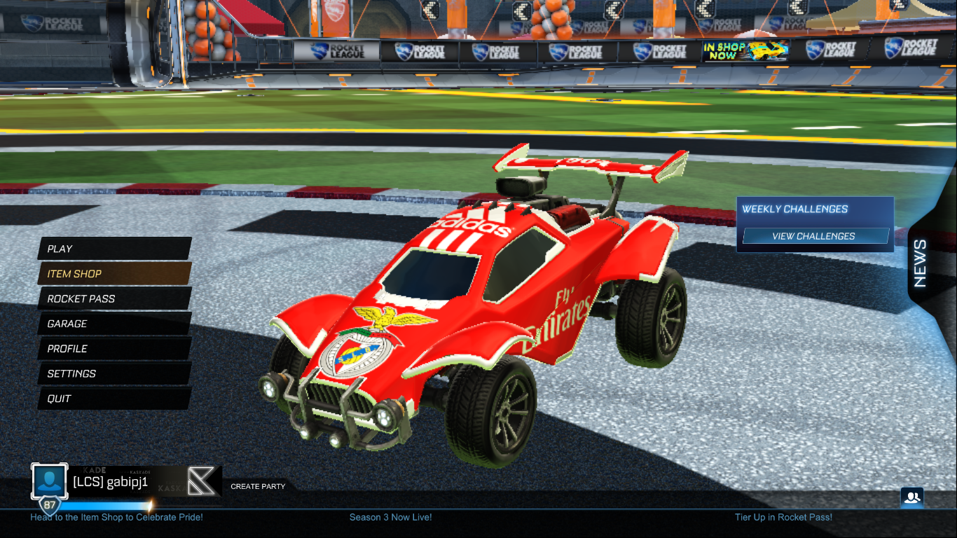 SLB – Benfica Decal