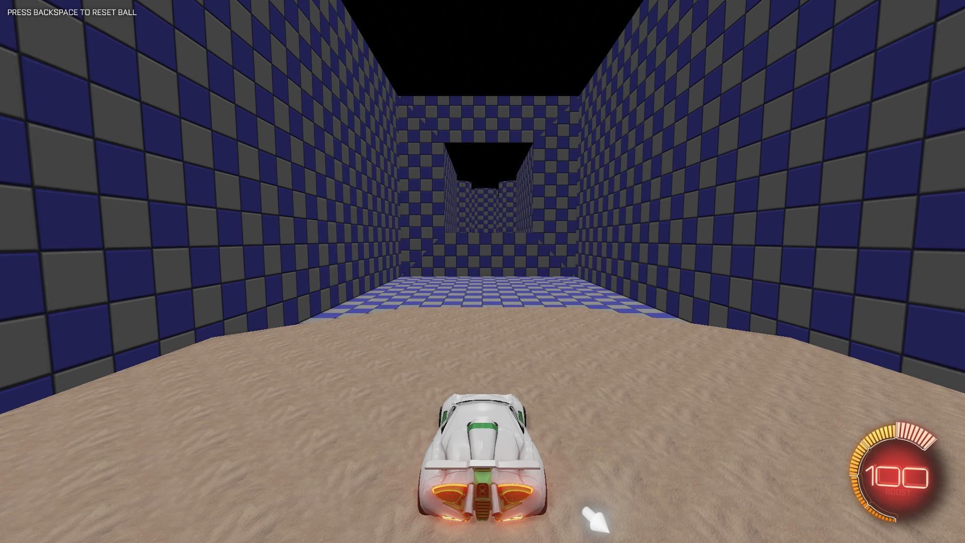 Rocket League Obstacle Course #1