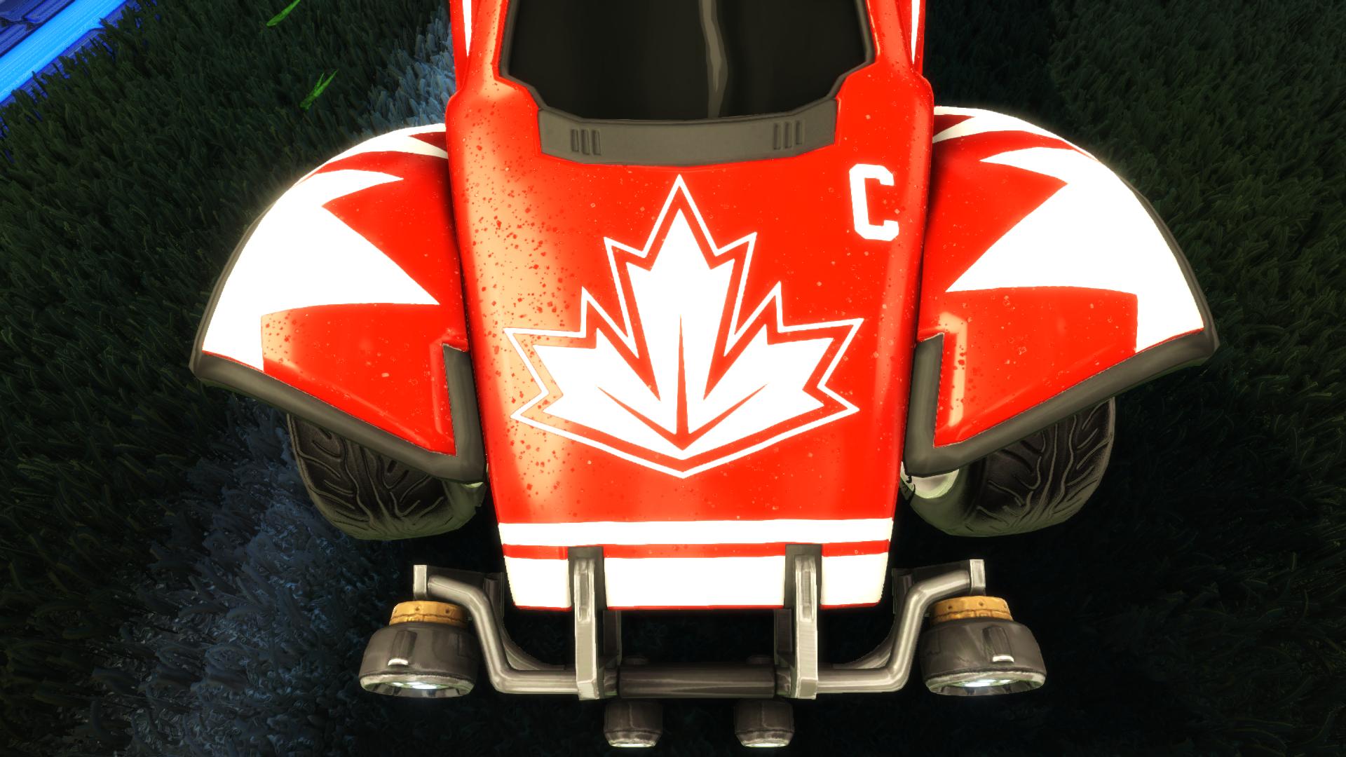 Team Canada Octane Decal