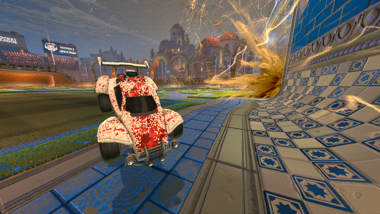 Blood Splatter Custom Decal Octane Stars High Quality