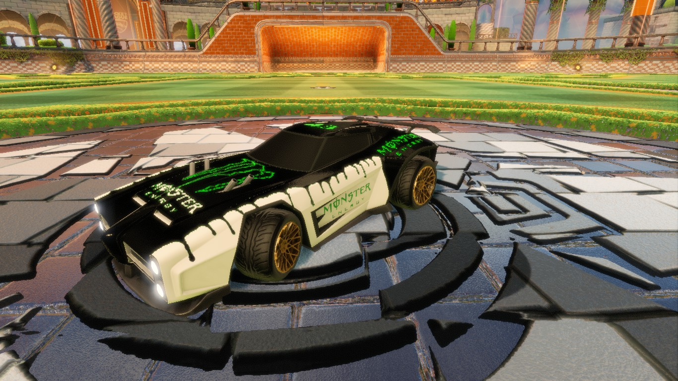 Monster Energy Decal For Dominus
