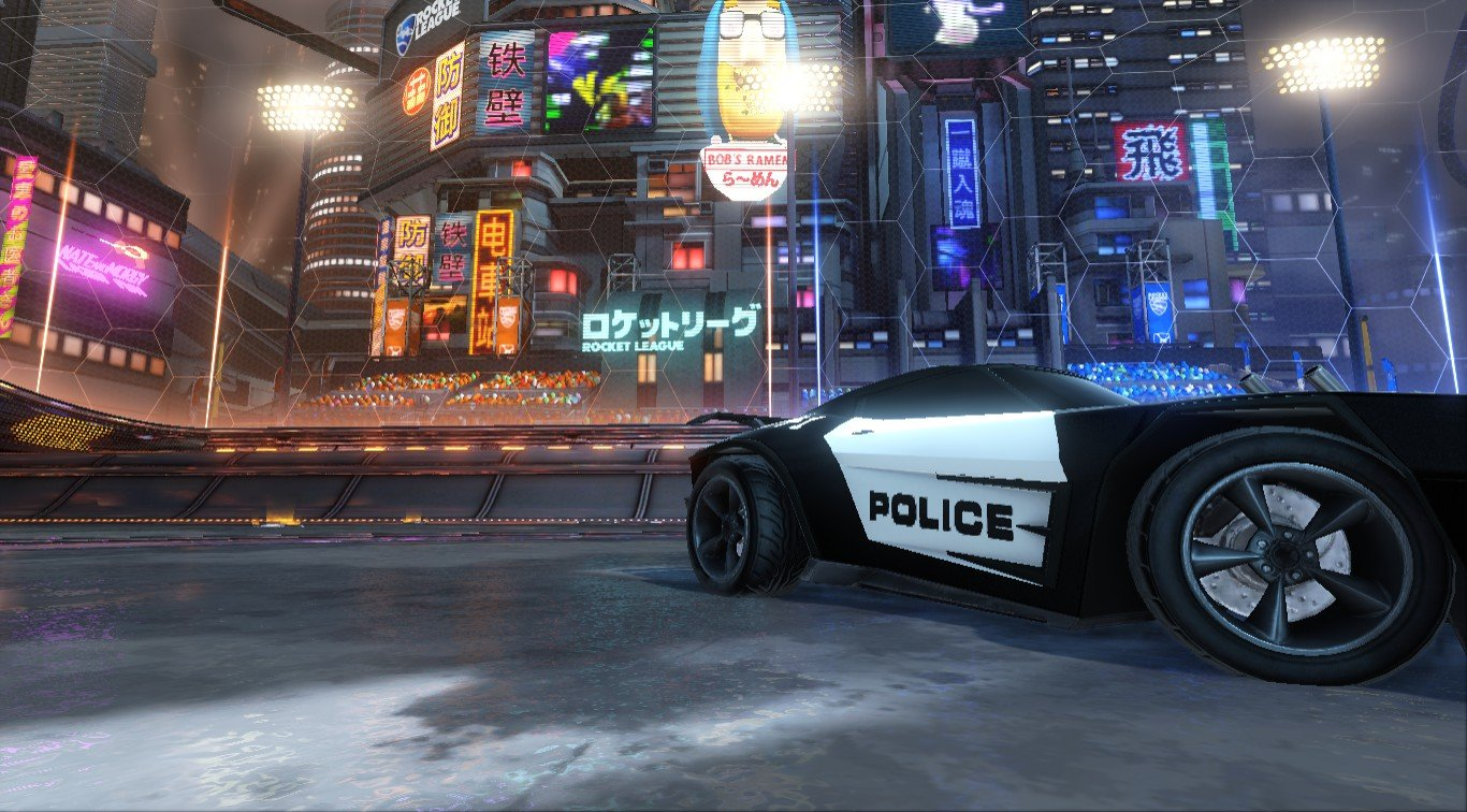 POLICE CAR DECAL FOR DOMINUS