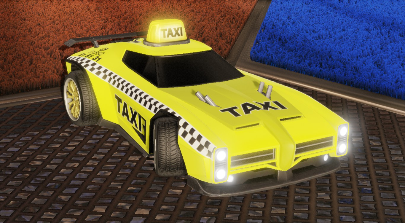 TAXI DECAL FOR DOMINUS