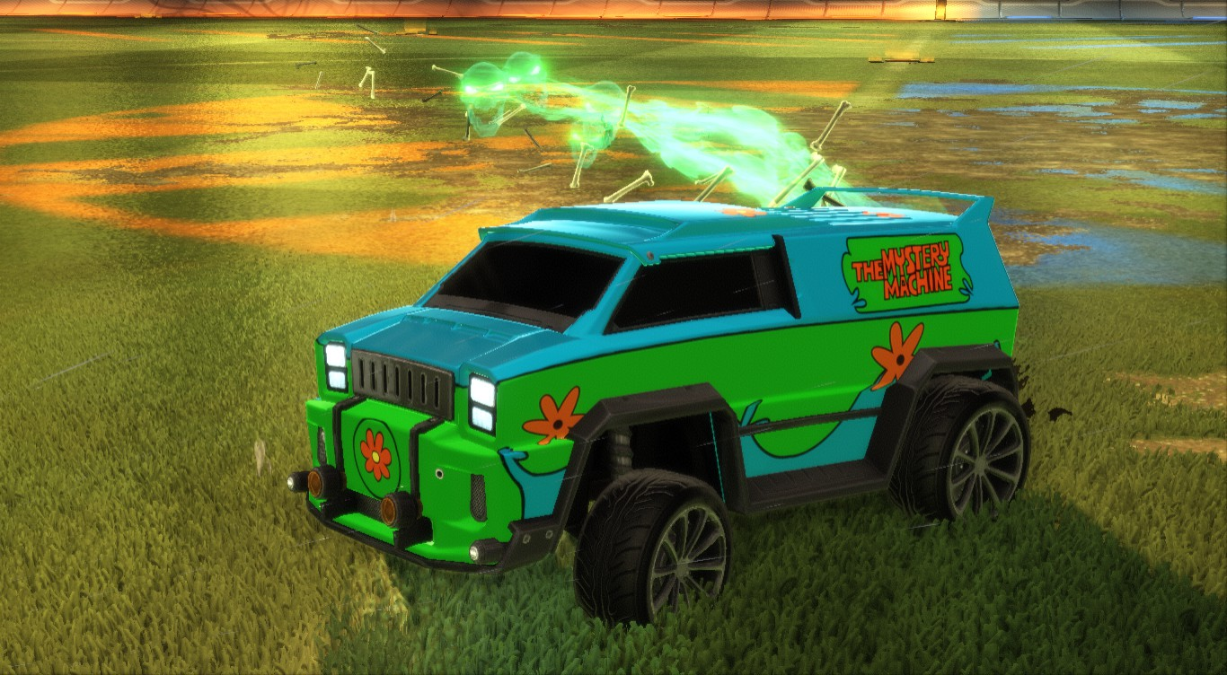 MYSTERY MACHINE DECAL FOR MERC
