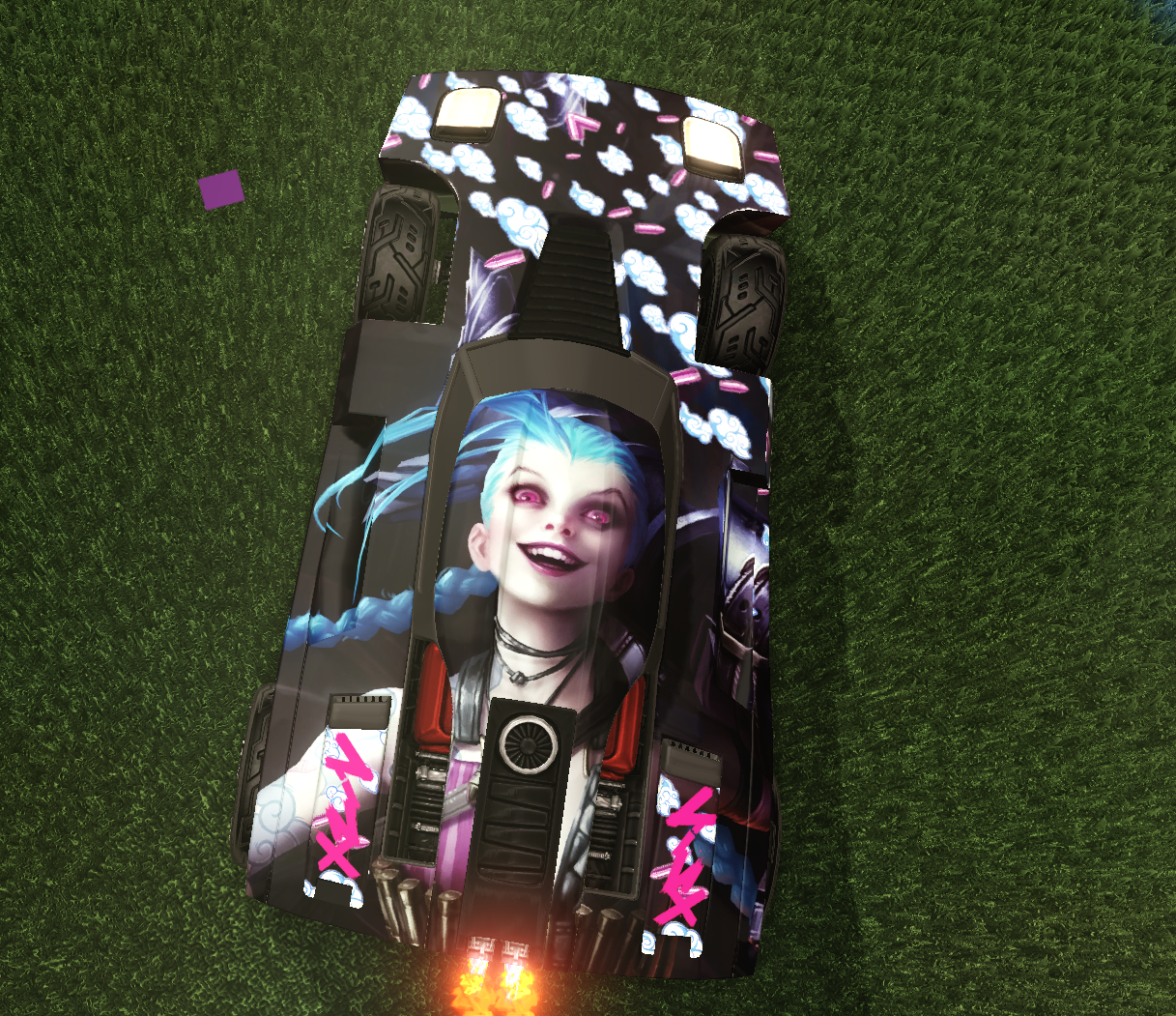 Get Jinx'd (League Of Legends Decal)