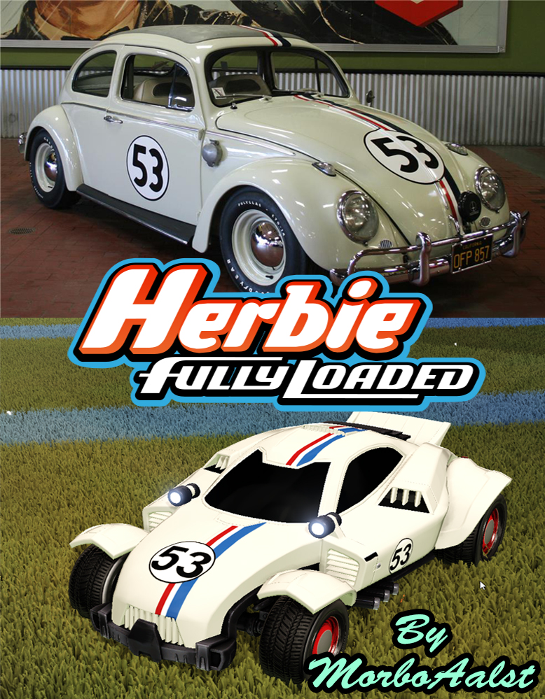Herbie fully loaded decal for Zippy