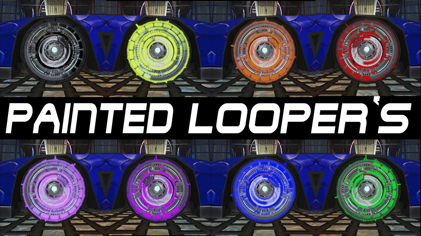 PAINTED LOOPER'S