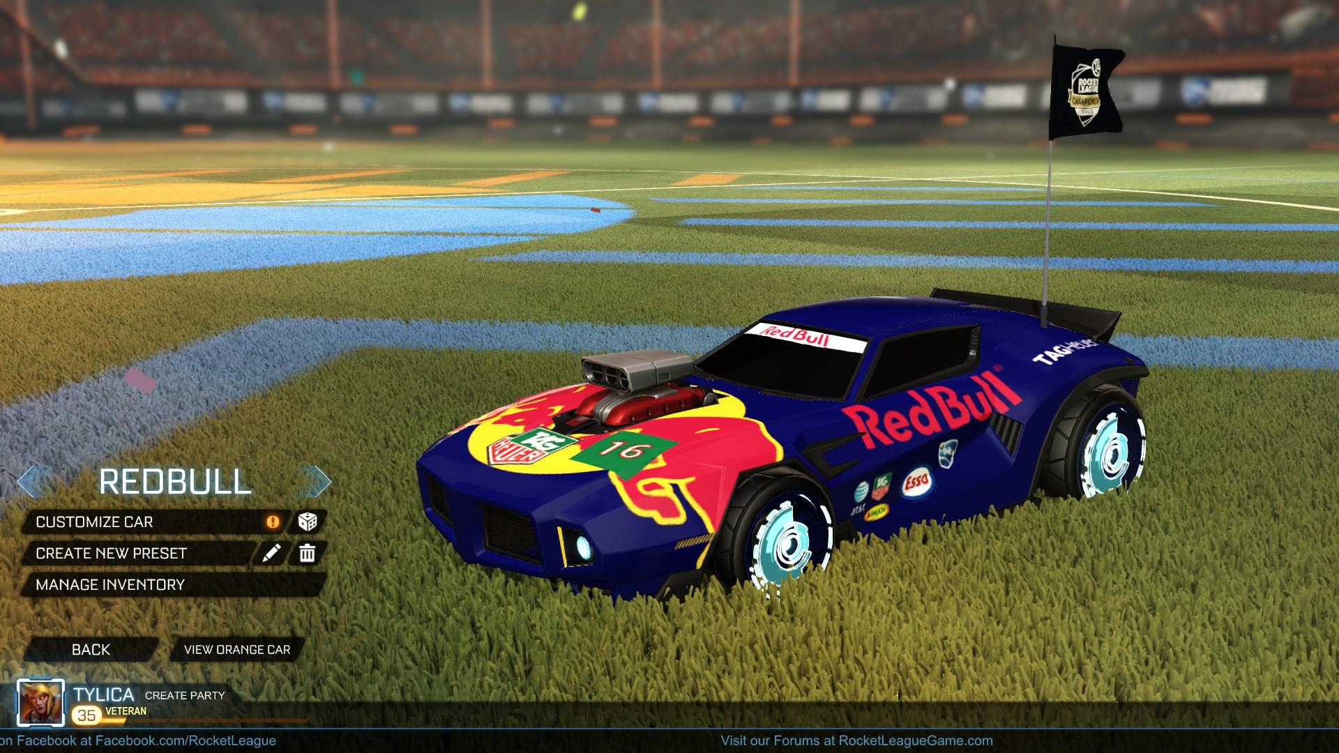 Dominus GT Red Bull Skin
