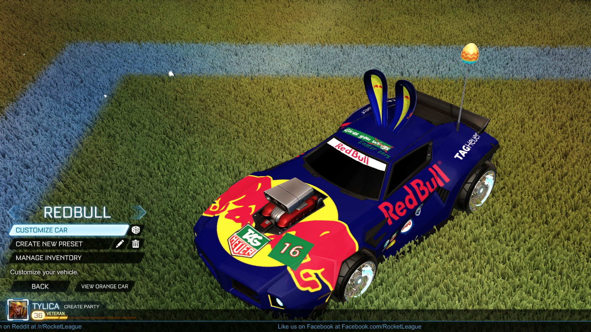 Dominus GT Red Bull Easter Festivities update