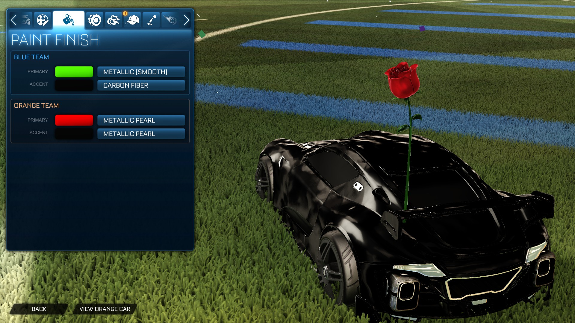 Variable Decals for all cars [Paints car in decal color/black/white]