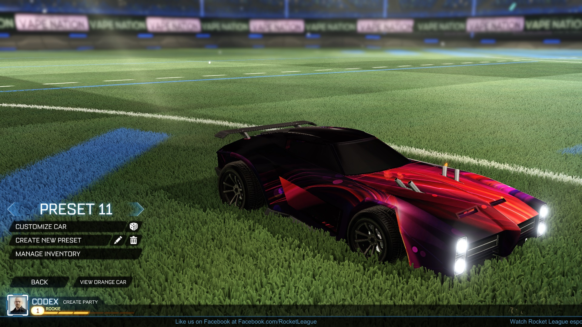 Dominus Red Decal