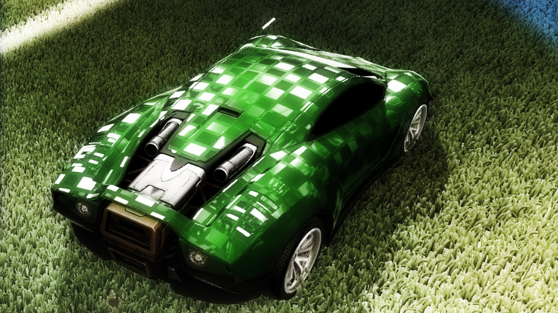 3 new Car Paints (Pixel, Crystal, Stone)