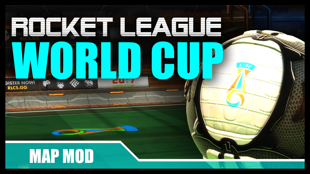 World Cup Mods – Ball + Field + Banners