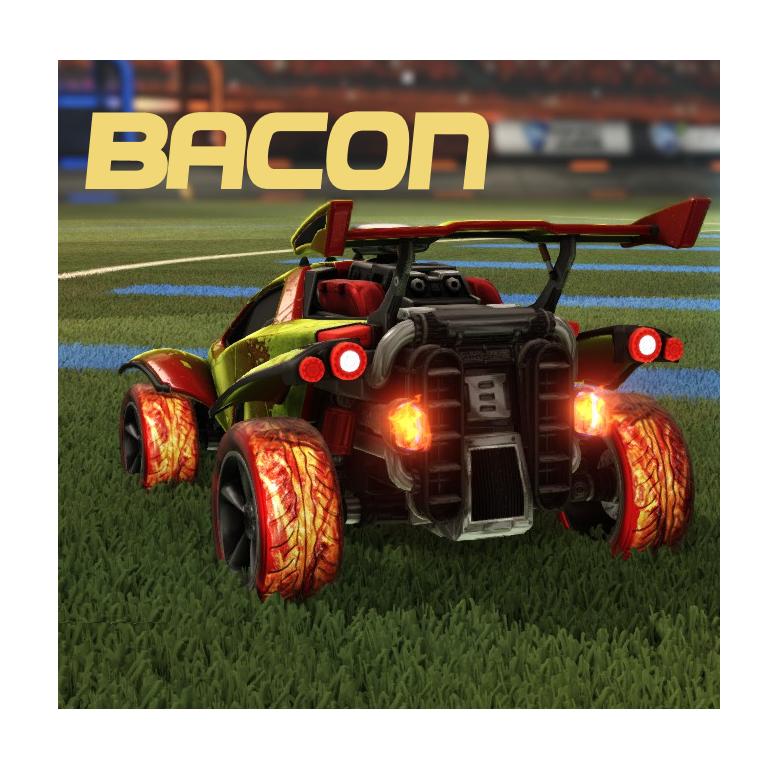 Bacon Crimson Wheels