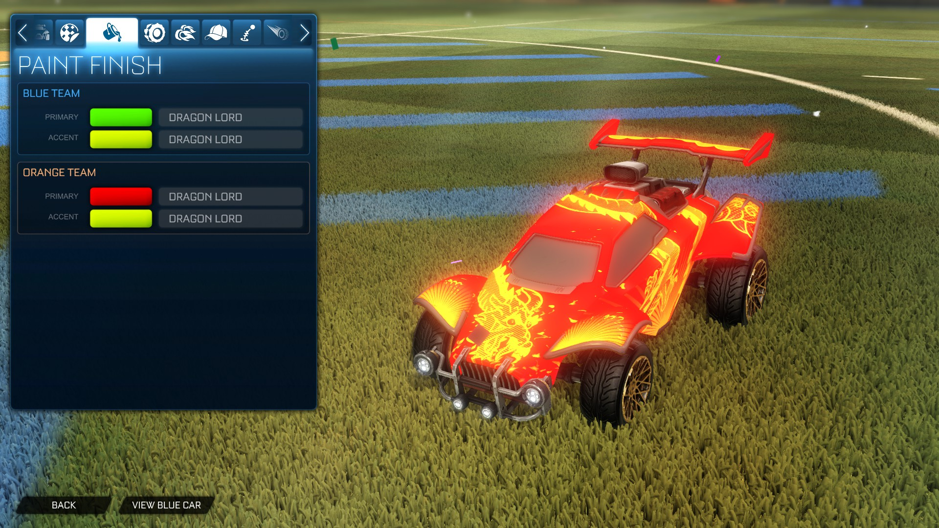 Glow Style for all animated Decals! [Only available for most used cars]