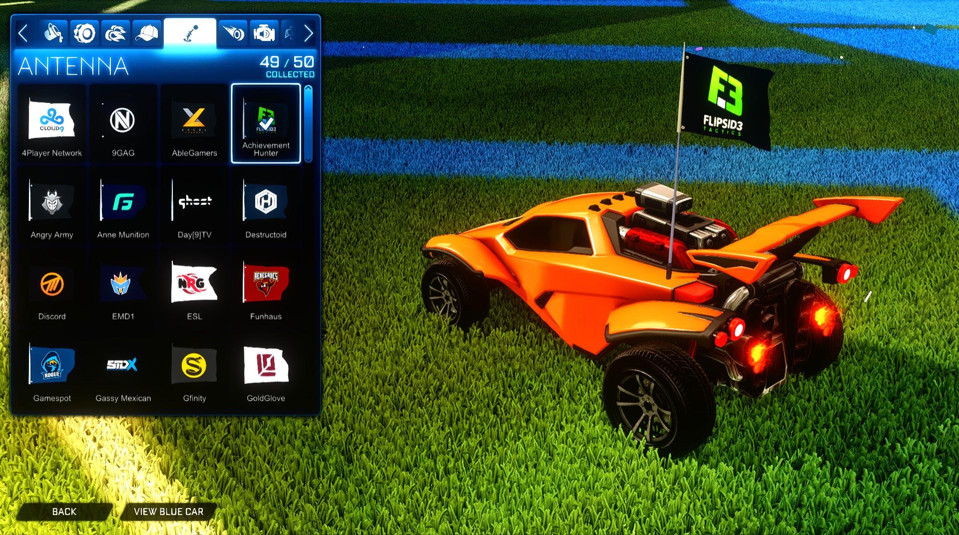 Rocket League Esports Flag Pack