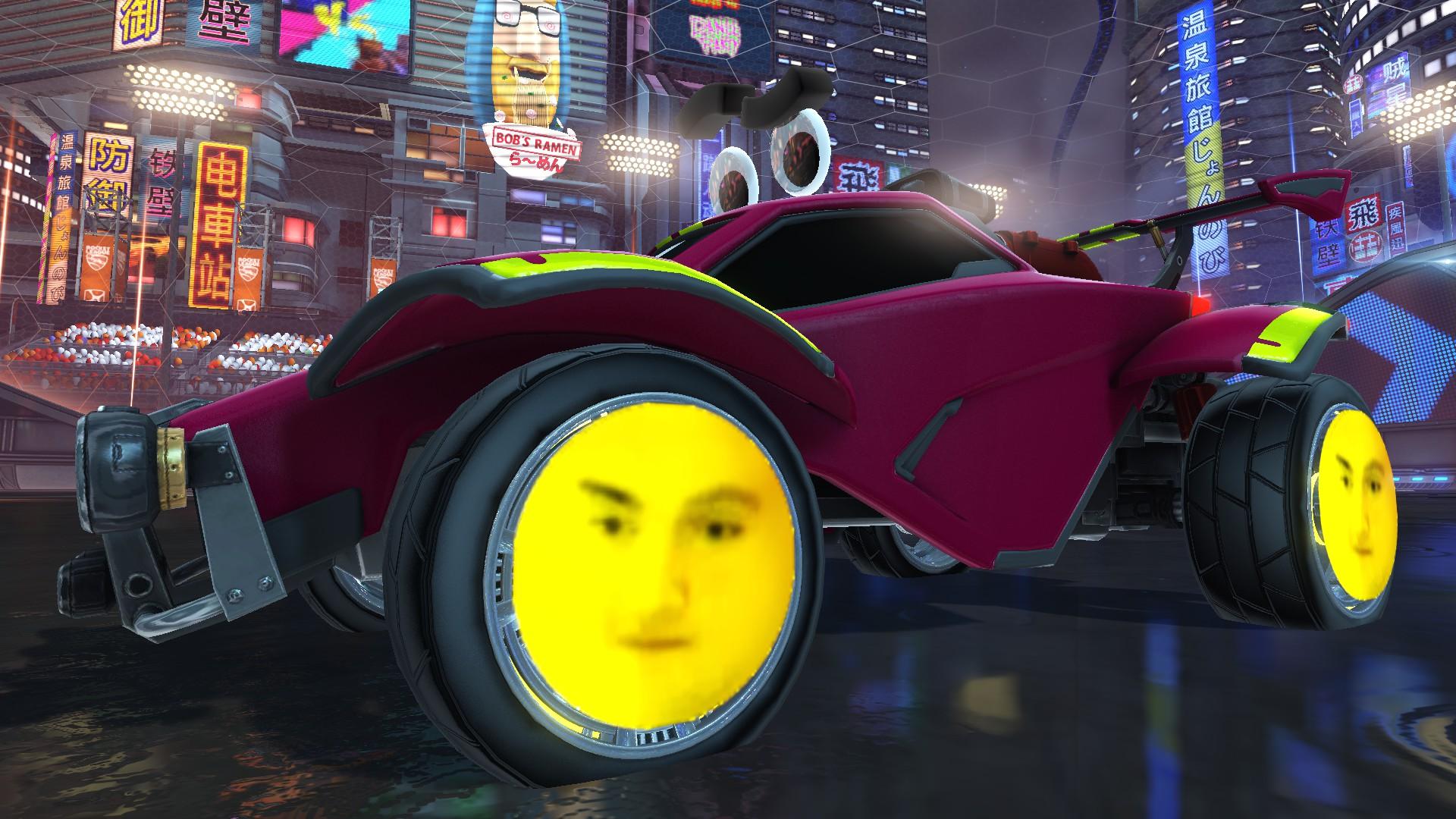 Markydooda Animated Wheels: The Eyebrow Dance (Looper Only)