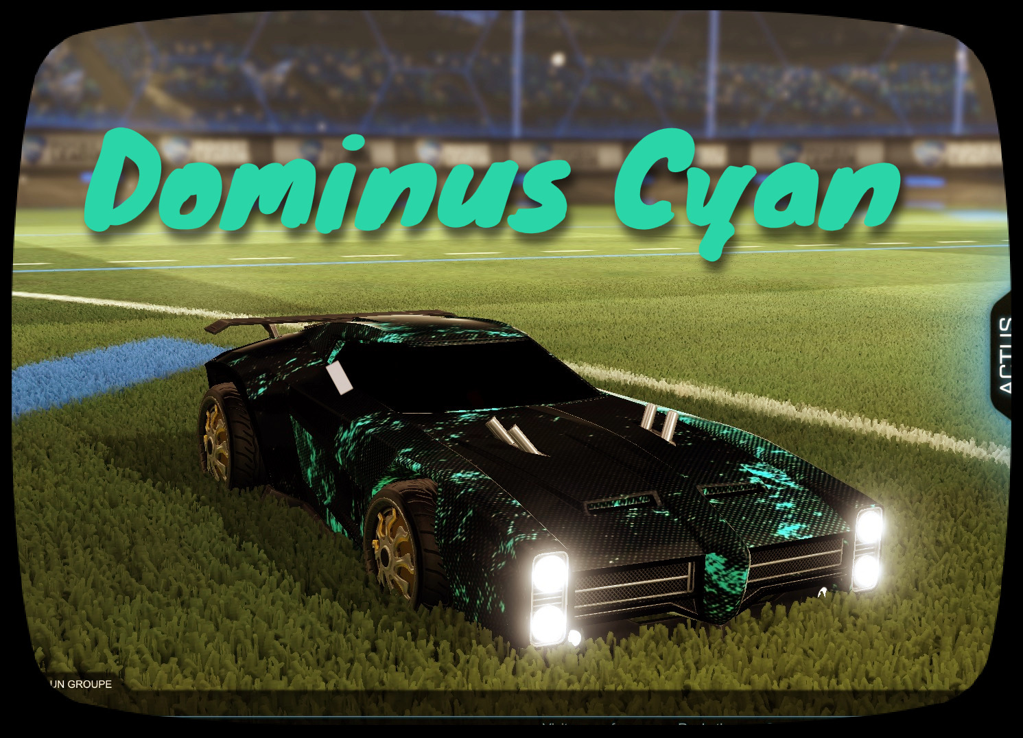 Dominus Cyan Light