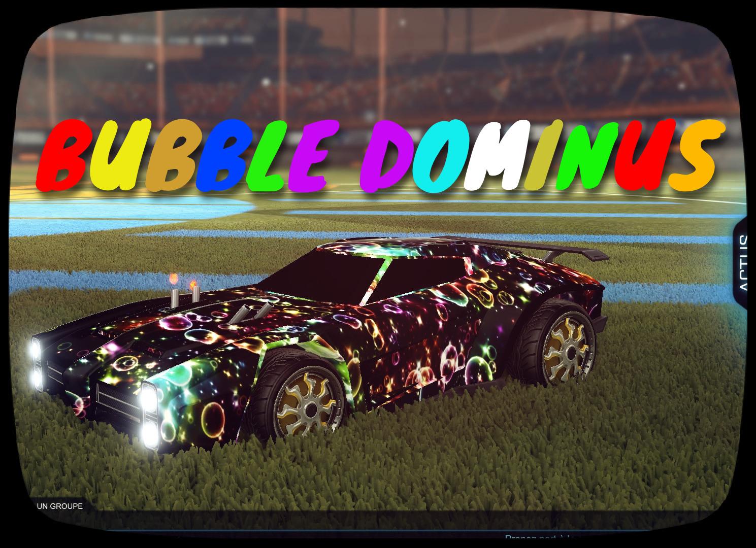 Bubble Dominus