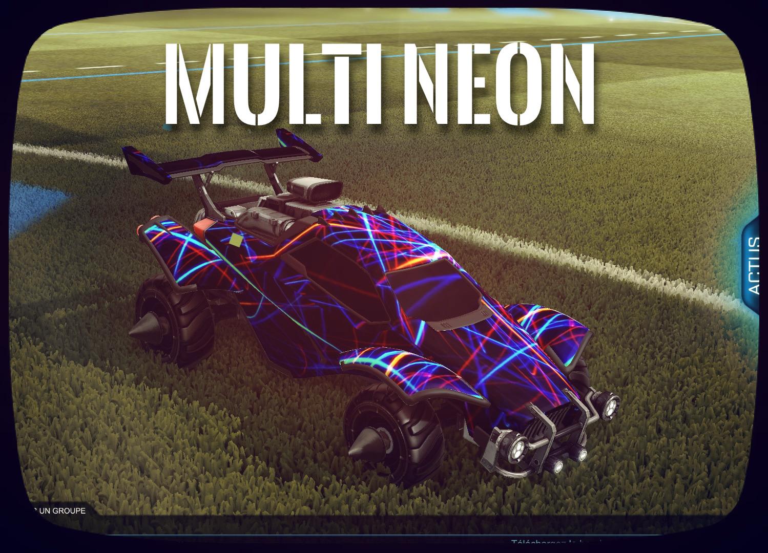 Octane Multi Neon