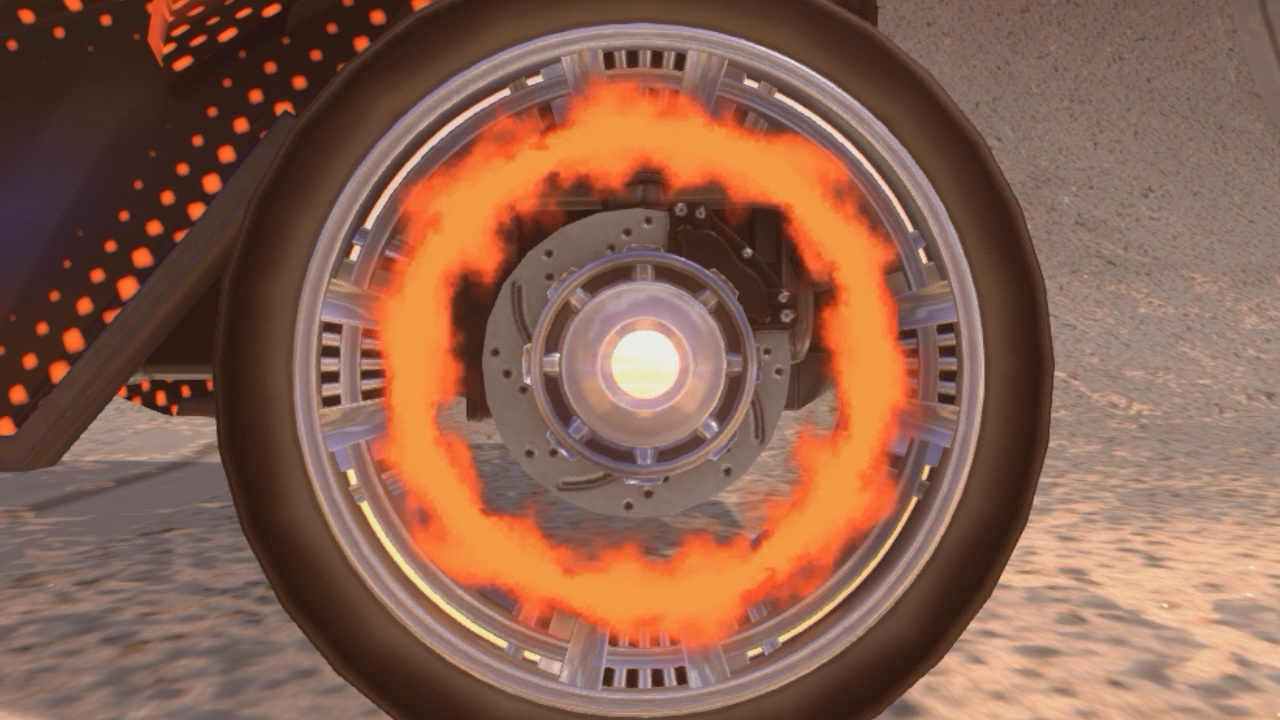 Fire Circle Chrono (Animated wheels)
