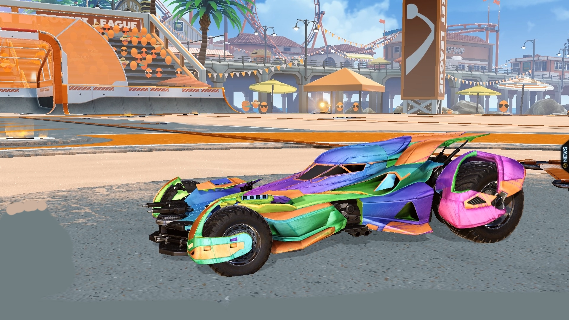 Mods Pack 1 | Rainbow decal | Transparent boost | New banners