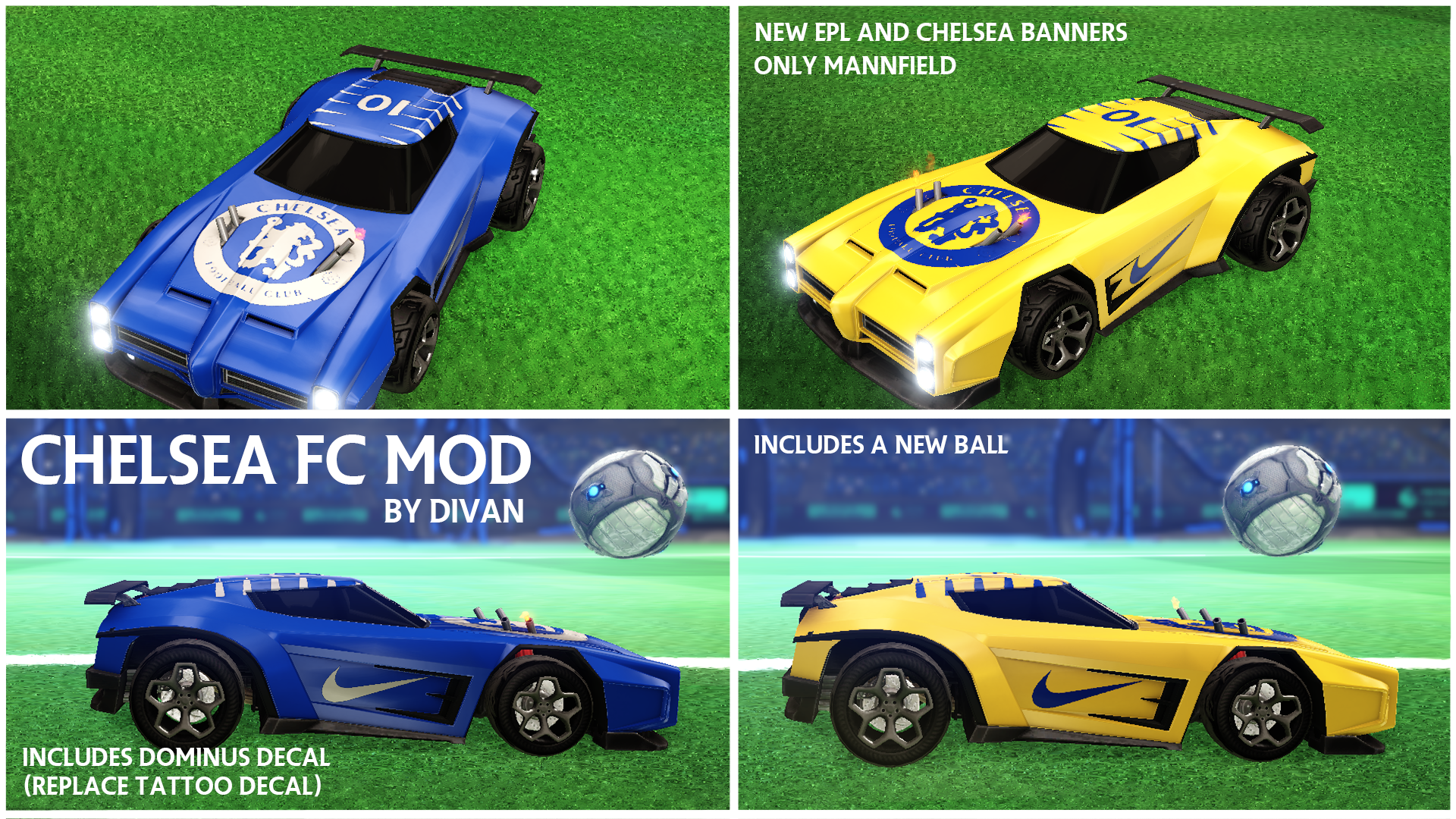 CHELSEA FOOTBALL CLUB AND EPL MOD