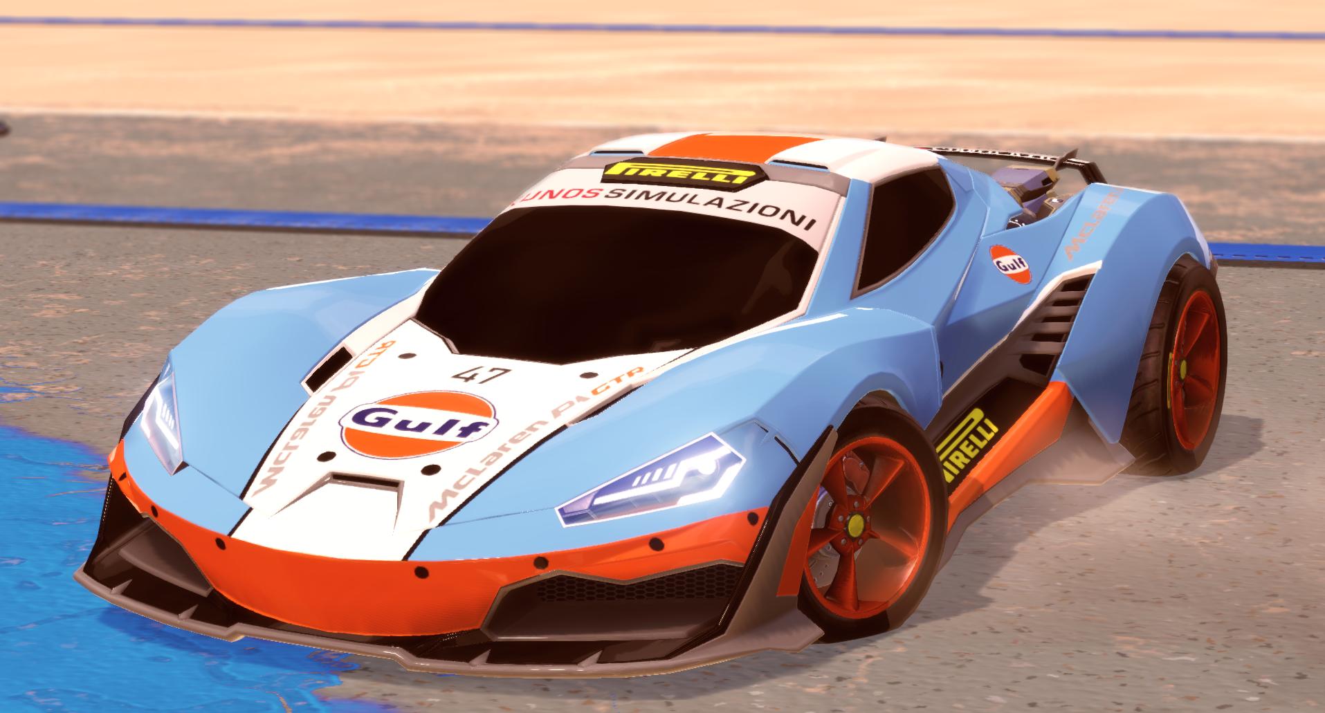 Gulf Racing Cyclone Livery!