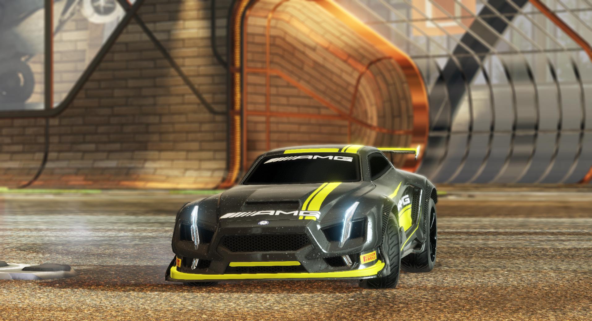 Maverick – Mercedes AMG Livery