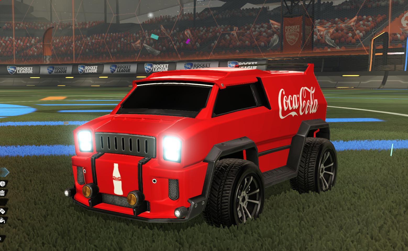 Coca Cola Merc Decal
