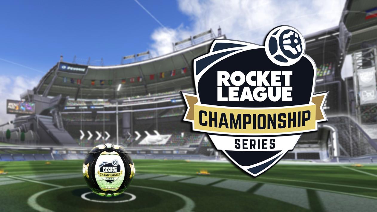 Rocket League Championship Series Ball (Fan made)
