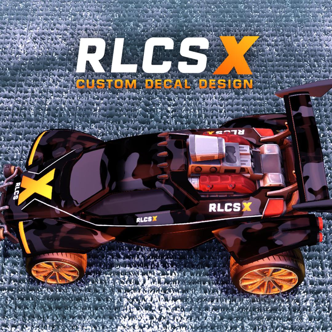 RLCS X octane decal