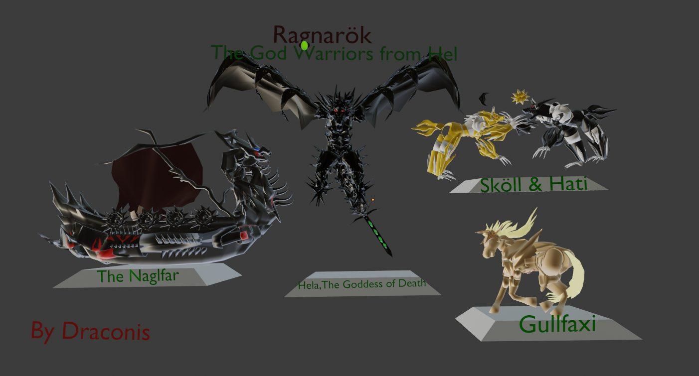 Insula Avalonia: Ragnarök (Los Dioses Guerreros de Hel)
