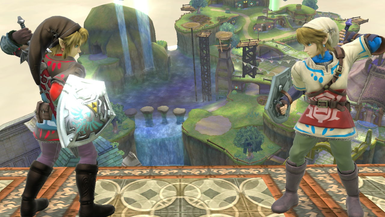 Link (Black Skyloft Attire)