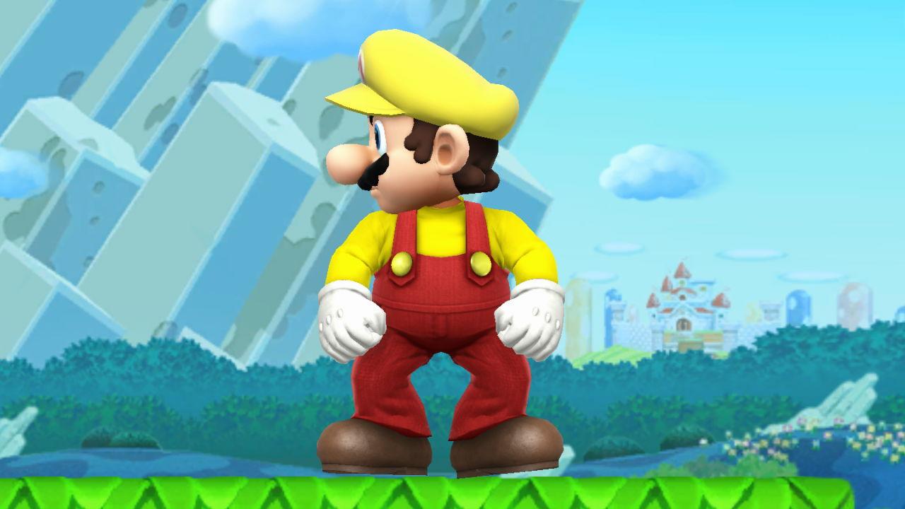 Mario (Super Mario Maker Attire)