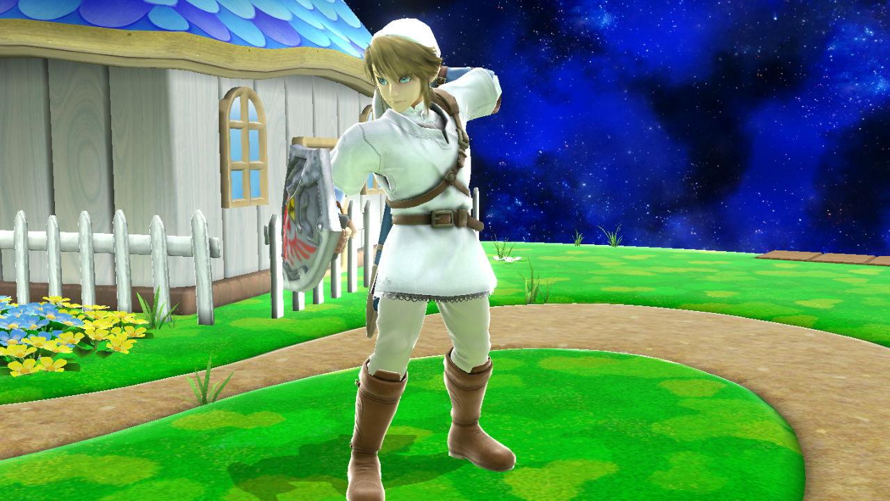 Link (White Tunic Attire)