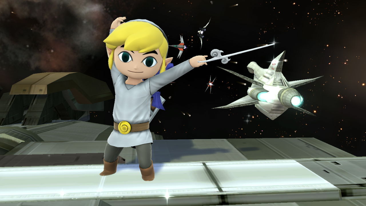 Toon Link (White Tunic Attire)